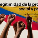 Legitimidad de la protesta social y política